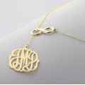 Buy affordable gold plated monogram necklace pendant for your necklace