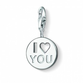Personalised I Love You Charm