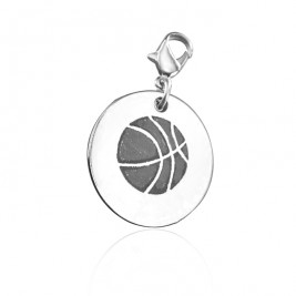 Personalised Basketball Charm