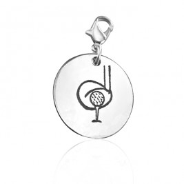 Personalised Golf Charm