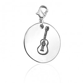 Personalised Guitar Charm