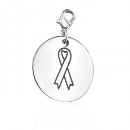Personalised Ribbon For a Cause Charm