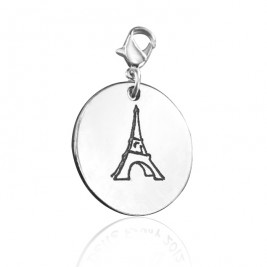 Personalised Eiffel Tower Charm