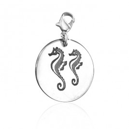 Personalised Seahorse Charm