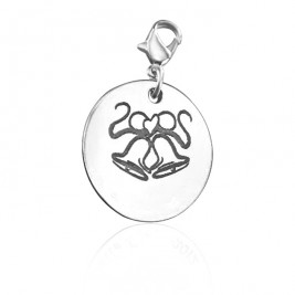Personalised Wedding Bells Charm