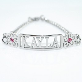 Name Necklace/Bracelet/Anklet - DIY Name Jewellery With Any Elements