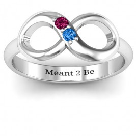Twosome  Infinity Ring