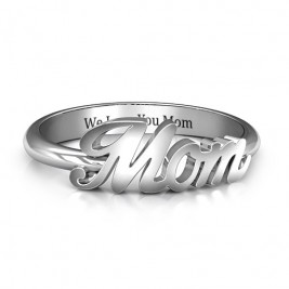 All About Mom Name Ring