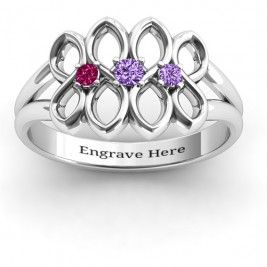 Echo of Love Infinity Ring