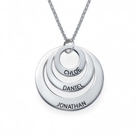 Jewellery for Mums - Three Disc Necklace