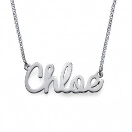 Personalised Stylish Name Necklace In Silver/Gold/Rose Gold