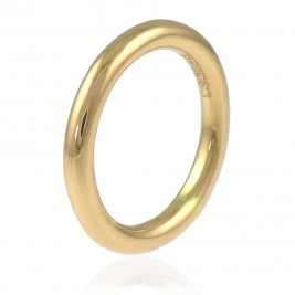 Halo Wedding Ring In 18ct Gold