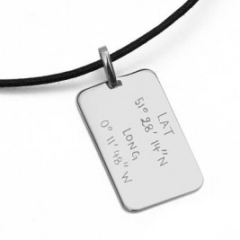 Mens Personalised Dog Tag Necklace