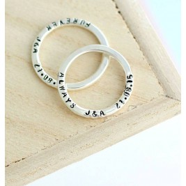 Personalised Message Ring