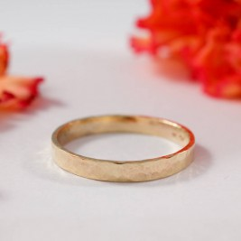 Wedding Bands In 9ct Yellow Gold