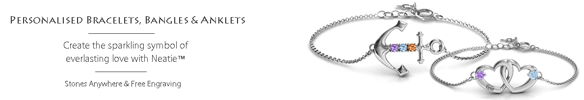 find the best personalised bracelets in UK and US