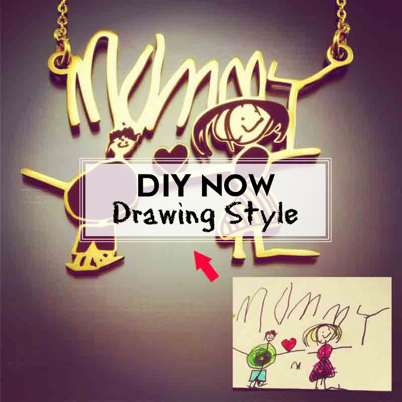 DIY Drawing Style Jewellery in the UK